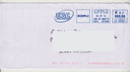 "EMA Cinéma Film "" U G C "" Sur Enveloppe Entière  (270)_EMA254 - Cinéma"