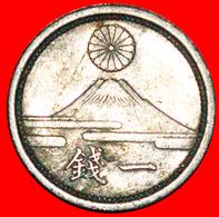 # WARTIME (1939-1945): JAPAN ★ 1 SEN 18 SHOWA (1943) MOUNT FUJI! LOW START ★ NO RESERVE! Showa (1926-1989) - Japan