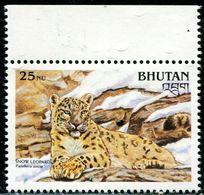 SA0580 Bhutan 1990 WWF Group Foreign Product Snow Leopard 1V MNH - Bhoutan