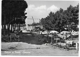 54100  MARINA DI MASSA, CAMPING  ~ 1960 - Italia
