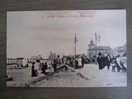 Tarjeta Postal - Uruguay Uruguaya Montevideo - Rambla Y Banos De Pocitos - 342 Editor : A. Carluccio Montevideo - Uruguay