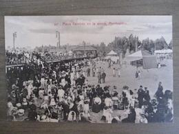 Tarjeta Postal - Uruguay Uruguaya Montevideo - Playa Ramirez En La Arena - 347 Editor : A. Carluccio Montevideo - Uruguay