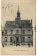 """1 Cpa Verzy - Hôtel De Ville """"pionnière 1903"""" - Verzy"""