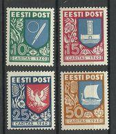 Estland Estonia 1940 CARITAS Michel 152 - 155 * - Estonia