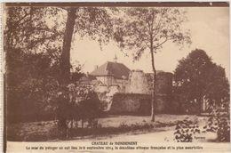 CARTE POSTALE   Château De MONDEMENT 51 - France