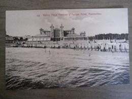 Tarjeta Postal - Uruguay Uruguaya Montevideo - Banos Playa Ramirez Y Parque Hotel - 314 Editor : A. Carluccio Montevideo - Uruguay