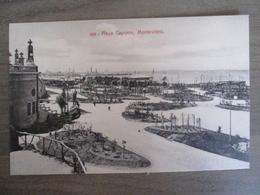 Tarjeta Postal - Uruguay Uruguaya Montevideo - Playa Capurro - 300 Editor : A. Carluccio Montevideo - Uruguay