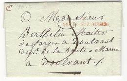 5816 - ARCIS SUR AUBE - 1801-1848: Precursors XIX