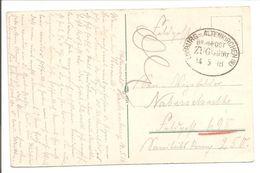 Bahnpost Limburg-Altenkirchen Zug 990. Feldpost.AK Coblenz - Cartas