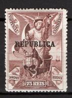 Portogallo 1911 Unif.189 */MH VF/F - 1910-... Republic