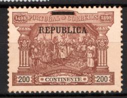 Portogallo 1911 Unif.192 */MH VF/F - Unused Stamps
