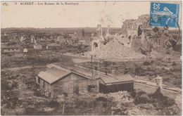 CARTE POSTALE   ALBERT 80  Les Ruines De La Basilique - Albert
