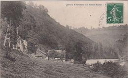 Calvados : Thury    HARCOURT   ,  Chemin D ' Harcourt à La  Roche  Busnel - Thury Harcourt