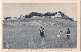 39. Environs De LONS-LE-SAUNIER. Ruines Du Château D'Arlay. 38 (2) - Lons Le Saunier