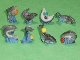 Fèves / Série Complète : Les Dauphins - Animals