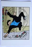 CPM Tintin Et Milou Le Capitaine Haddock L'affaire Tournesol Hergé Moulinsart Sundancer - Ansichtskarten