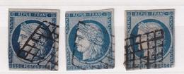 FRANCE YT N°  4   2ième CHOIX - 1849-1850 Cérès
