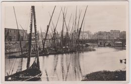 Egypte : ALEXANDRIA - Alexandrie :  Le  Canal  ( Timbre) Destinée à  Rouen - Alexandria