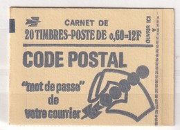 FRANCE CARNET YT N° 1815- C1    60C VERT - Carnets
