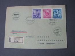 BM Pardubitz  Cv. 1943  FDC  ???? - Böhmen Und Mähren