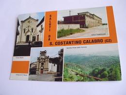 Catanzaro - Saluti Da S. Costantino Calabro - Catanzaro