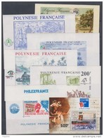 Polynésie Lot De 7 Blocs Feuillets (6, 9 à 12,15 Et 24) XX à 15 % De La Cote ! Neuf Sans Charnière, TB - Polynésie Française