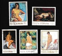 Roumaniex - ONus Féminins - PeintureY&T2289 - 2375 - 2410 - 2454 - 2459 - 2457 - 2493 - 2620 - 1948-.... Republiken
