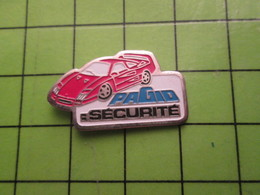 713J Pin's Pins / Beau Et Rare : Thème AUTOMOBILES / FERRARI F40 ROUGE PAGIO SECURITE - Ferrari