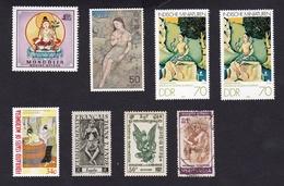 DiversVariéNus Féminins - Art Oriental - Postzegels