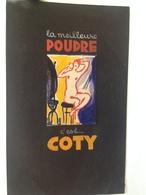 Projet D'Affiche - Parfum - La Meilleure Poudre, C'est COTY - Gouache Originale Attribuée Au Nantais P.Baudrier - - Manifesti