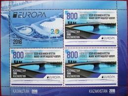 Kazakhstan  2018  Europa - CEPT    M/S MNH - Kazakhstan
