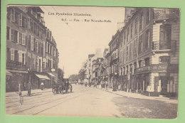 PAU : Rue Nouvelle Halle. 2 Scans. Edition Royer - Pau