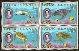 Cook Islands 2007 Yvertn° 1279-1282 *** MNH Cote 30 Euro Faune Tortues Schildpadden - Cook