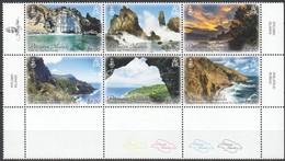 Pitcairn Islands 2016 Yvertn° 861-866 *** MNH Cote 33 Euro Paysages Landscapes Landschappen - Timbres