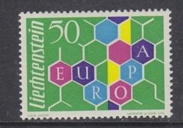 Europa Cept 1960 Liechtenstein 1v ** Mnh (original Gum) (39926) - 1960