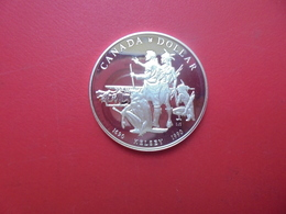 CANADA 1$ 1990 ARGENT QUALITE SUP/FDC !!! - Canada