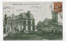 SISSONNE EN 1929 - CHATEAU DE LA GARENNE COTE SUD - CPA  VOYAGEE - Sissonne