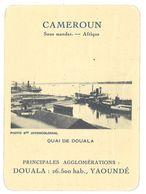 Carte Cameroun - Quai De Douala - Géographie