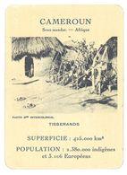 Carte Cameroun - Tisserands - Géographie