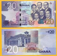 Ghana 20 Cedis P-40 2017 UNC - Ghana