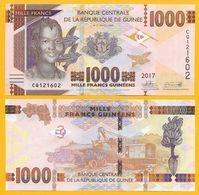 Guinea 1000 Francs P-48 2017 UNC - Guinea