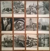 Lot De 12 Cartes Postales Photographe Albert MONIER / PARIS Signature En Relief - Monier