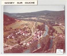 21 - COTE D 'OR / Cliché Unique Epreuve COMBIER - Format 17 X 11,5 Cm - Gissey Sur Ouche - Défaut - France