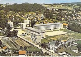 39 - LONS LE SAULNIER : Nouveau Lycée De Jeunes Filles Et Quartier Des Princières ( HLM Cité Immeubles ) CPSM GF Jura - Lons Le Saunier