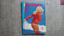 Playboy March 1975 Eva Maria Ingeborg Sorenson Billie Jean King Margot Kidd Poster Playmate érotique Erotic - Men's