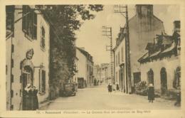 29 FOUESNANT / La Grande Rue En Direction De  Beg Meil  / - Fouesnant