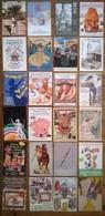 Lot De 24 Cartes Postales Salons & Bourses & Festivals Cartophilie /c - Bourses & Salons De Collections
