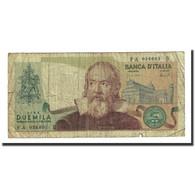 Billet, Italie, 2000 Lire, 1973-10-08, KM:103a, TB - [ 2] 1946-… : Républic