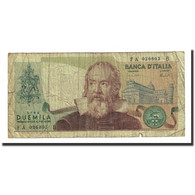 Billet, Italie, 2000 Lire, 1973-10-08, KM:103a, TB - [ 2] 1946-… : Republiek