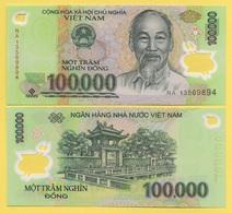 Vietnam 100000 (100'000) Dong P-122m 2016 UNC - Vietnam